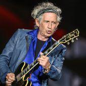 Keith Richards kündigt neues Stones-Album an