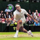 Roger Federer regiert in seinem Reich