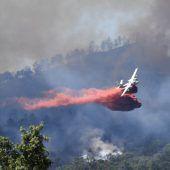Tausende vor Flammenhölle gerettet