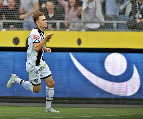 Stefan Hierländer erzielte gegen Fenerbahce das 1:0 für Sturm. gepa