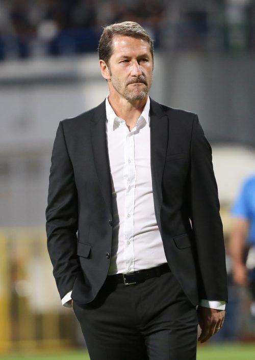Sturm-Trainer Franco Foda traut seiner Mannschaft viel zu.gepa