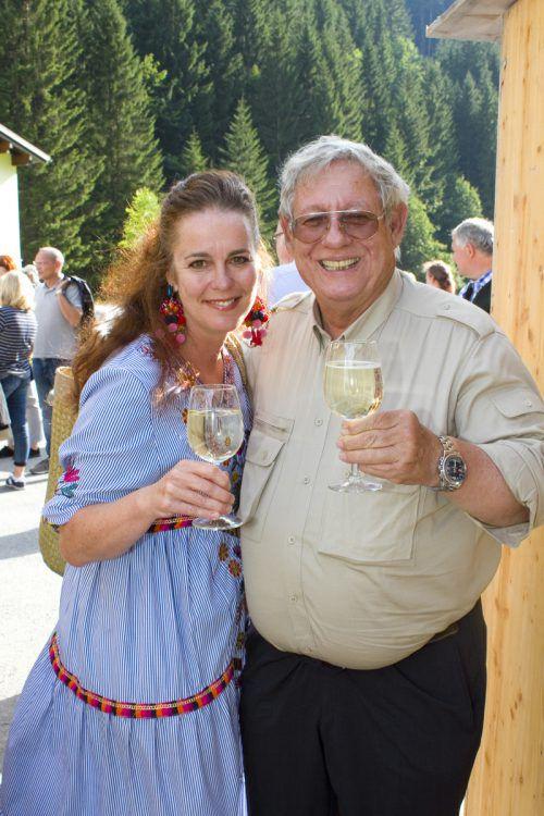 Susanne Kerber und Michael Manhart.Fotos: Franc