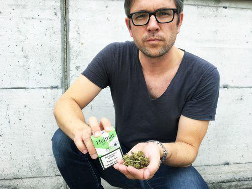Tabakproduzent Roger Koch sorgt mit neuen Tschicks für Wirbel.