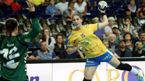 Tamara Bösch trägt seit Sommer 2016 das Trikot des deutschen Rekordmeisters Leipzig.Verein