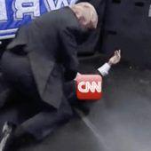 Empörung über Trumps Prügelvideo