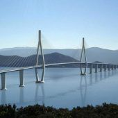 Neue Brücke verbindet Kroatien und die EU