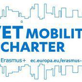 Wir haben die Erasmus Mobility Charta