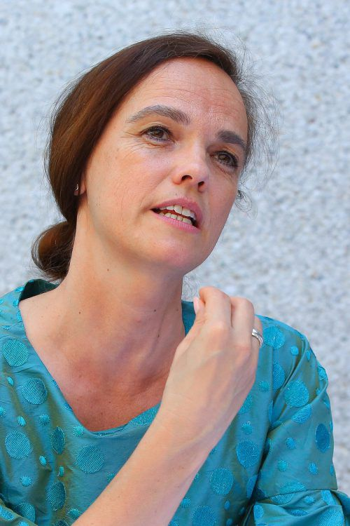 "Voll Tatendrang und alles andere als amtsmüde: Sonja Hammerschmid würde sehr gerne ""in die Gestaltung kommen"".Foto: VN/Hofmeister"