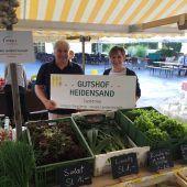 Neue Gemüsehändler am Loschnouar Markt