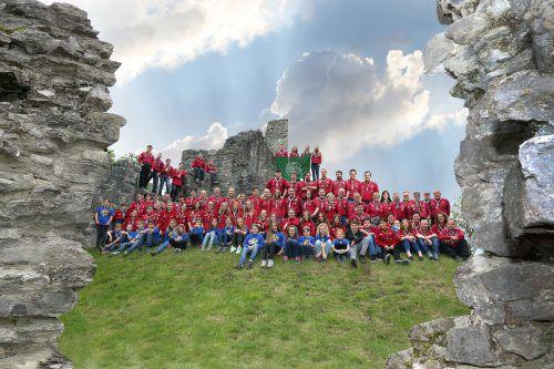 Vor 50 Jahren wurde die Pfadfindergruppe St. Martin Altenstadt-Levis gegründet. FOTOS: ETU