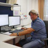 Werner Pichler am Tatort