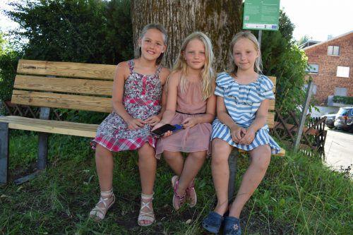 Wie Theresa, Laura und Louisa trugen viele Lingenauer ihre Geschichten zu dem Projekt bei.
