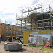 Dachgleiche für Wohnanlage in Lauterach