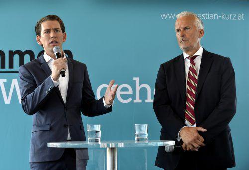 2016 hatte sich Moser dem Werben der FPÖ, für diese in den Präsidentschaftswahlkampf zu ziehen, widersetzt. Nun trifft er für Kurz an. APA