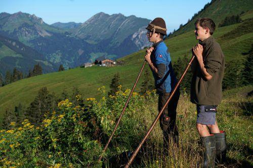 Abgeltung für bäuerliche Leistungen in Bergregionen steht im Mittelpunkt einer Förderung. Foto: VN/L. Berchtold