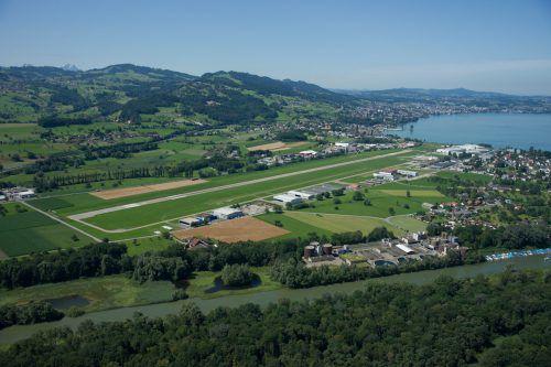 Am Flughafen Altenrhein wurden 2016 insgesamt 108.521 Passagiere gezählt. Foto: people's