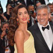 Die Clooneys wollen Flüchtlingen helfen