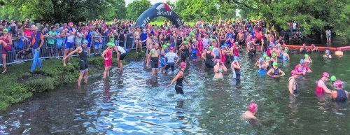 An der 24. Auflage des Skinfit Jannersee Triathlons beteiligten sich rund 400 Profi- und Hobbysportler.Alle Fotos: Veranstalter