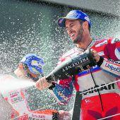 Dovizioso wehrte sich gegen Marquez