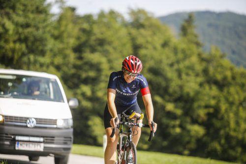 Race-Around-Austria-Siegerin Anna Bachmann wurde Zweite. RAA