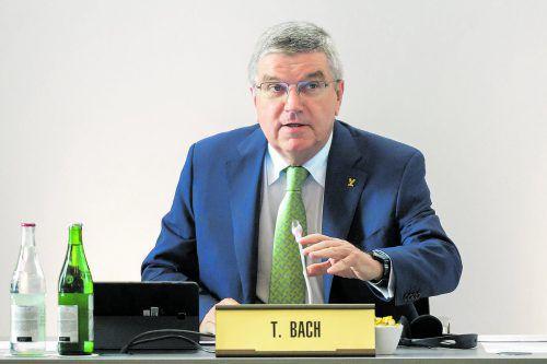 Arbeitet an der Dopingaufklärung: Thomas Bach. Foto: ap