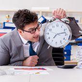 Bin ich ein Workaholic?