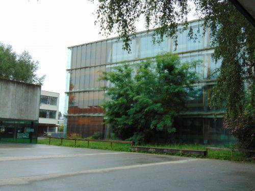 Auch im Mäderer Schulzentrum ist Biomasse Trumpf. Foto: Mima