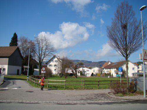 """Auf dem """"Göislar""""-Grundstück soll künftig betreutes Wohnen möglich sein. Foto: or"""