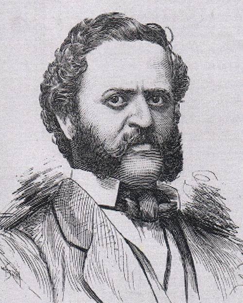 August Brentano aus Hohenems wurde Buchhändler in New York.