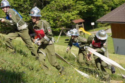 Bereits seit März wird für diesen Wettkampf trainiert.foto: Fw Alberschwende