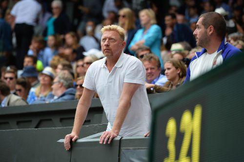 Boris Becker hat einen neuen Job übernommen. Foto: AFP