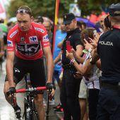Froome bleibt bei Vuelta vorne