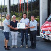 Biogas erwärmt Feuerwehrhaus in Thüringen