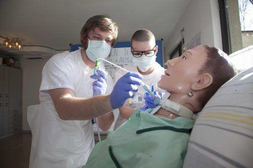 Das Interesse am Pflegeberuf ist nach wie vor groß.Foto: khbg