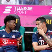 FC Bayern im Supercup ohne David Alaba