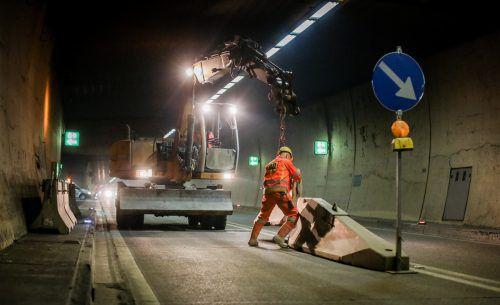 63 Millionen Euro investiert die Asfinag in die Erneuerung der Fahrbahn, der Tunnelbeschichtung sowie der Entwässerung. Stelzl Bernhard