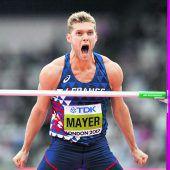 Mayer marschiert Richtung Gold