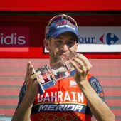 Nibali holte Etappensieg, Froome Führung