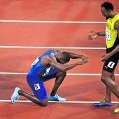 Gatlin verhindert Bolts Traum