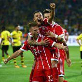 Bayern München holt sich ersten Titel der Saison