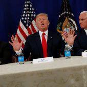 Trump droht Pjöngjang mit militärischer Lösung