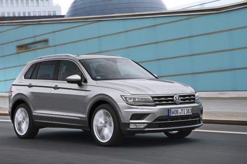 """Der VW Tiguan zeigt Kante, er kommt demnächst auch als """"Allspace"""" mit Siebensitz-Option."""