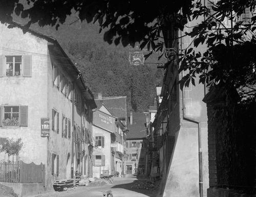 """Die Ausstellung """"Hegenbart – Das Bludenzer Fotohaus und seine Sammlung"""" bietet einen fotografischen Überblick der Stadt Bludenz.foto: stadtarchiv bludenz"""