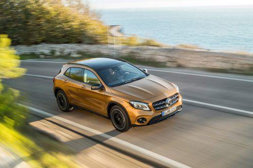 Die Bandbreite der GLA-Derivate hat Mercedes von der recht tüchtigen Offroad-Version bis zur leistungsstarkten AMG-Variante gespannt.