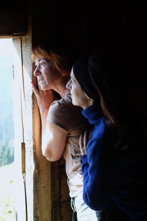 """Die emotionsgeladene Theaterwanderung """"Auf der Flucht"""" führt durch die Montafoner Bergwelt.Foto: Kegele"""