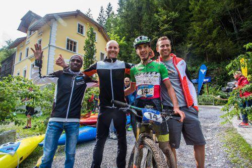 Die Gesamtsieger vom Team Protos Integral: (v.l.) Petro Mamu, Lorenz Peer, Juri Ragnoli und Manuel Filzwieser.Fotos: steurer