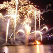Sommernachtsfest mit Feuerwerk