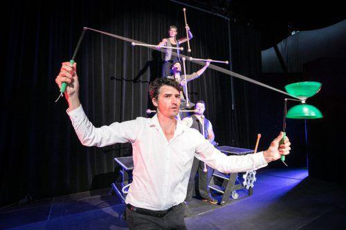 """Die öffentliche Aufführung """"Laboratorium: Circus"""" findet am Donnerstag, dem 24. August, um 20.30 Uhr im Freudenhaus in Lustenau statt. Foto: Sams"""