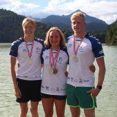 Vizemeistertitel für Trio des SC Bregenz