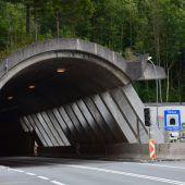 Tunnelsanierung in Dalaas im Endspurt